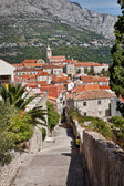 Croatia - view on Korcula City — Foto Stock