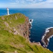 Stock Photo: Faroe Islands, landscape of Akraberg lighthouse