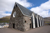 Christianskirkjan of Klaksvik, Faroe Islands — Stock Photo