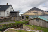 Faroe Islands, abandoned village — Stock Photo