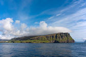 Faroe Islands, view from the sea — Stock Photo