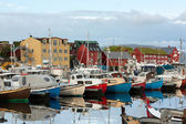 Harbor of Torshavn, Faroe Islands — Stock Photo