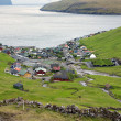 Stock Photo: Scenic view of Vestmanna, Faroe Islands