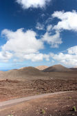 Lanzarote, Timanfaya National Park ( Vertical ) — Stock Photo