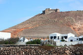 Castle of Santa Barbara at Teguise, Canary Islands — Stock Photo