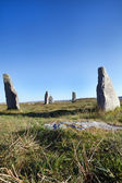 Ancient standing stones on the Isle of Lewis — Stock Photo
