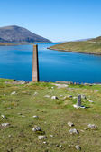Ruined old whaling station, Isle of Harris — Stock Photo