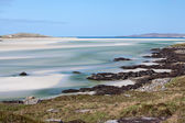 Luskentyre beach, Harris, Outer Hebrides, Scotland — Stock Photo