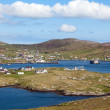 Panorama of Castlebay, Barra, Outer Hebrides — Stock Photo