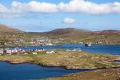 Panorama of Castlebay, Barra, Outer Hebrides — Stock Photo
