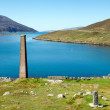 Ruined old whaling factory, Isle of Harris — Stock Photo