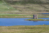 Scolpaig Tower, North Uist, Outer Hebrides — Stock Photo
