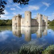 Stock Photo: Bodiam castle, East Sussex, UK