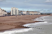 Eastbourne seafront — Stock Photo