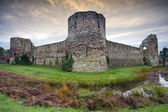 Pevensey castle, East Sussex, England — Stock Photo