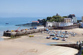 Tenby harbour — Stock Photo