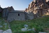 Saint Govan's chapel — Stock Photo