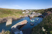 Porthgain harbour, Pembrokeshire, Wales — Stock Photo