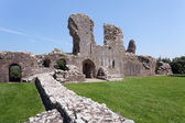 Llawhaden Castle ruins, West Wales — Stock Photo