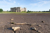 Carew Castle old ruins — Stock Photo