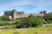 Manorbier castle, Wales — Stock Photo