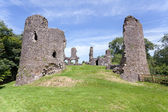Narberth castle ruins — Stock Photo