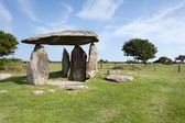 Pentre Ifan neolithic dolmen — Stock Photo