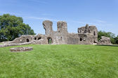 Llawhaden Castle ruins — Stock Photo
