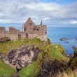 Dunluce castle ruins — Stock Photo #44444741