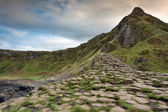 Giant's causeway scenery — Stock Photo
