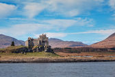 View of Duart castle from the sea — Stock Photo