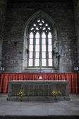 Altair of the Abbey church of Iona, Scotland — Stock Photo