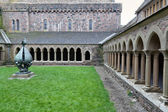 Iona Abbey cloister — Stock Photo