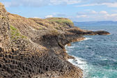 Isle of Staffa coast, Scotland — Stock Photo