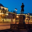 Night St. Petersburg. Monument of Kruzenshteyn. — Stock Photo