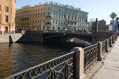 St. Petersburg. Potseluev bridge — Stock Photo