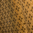 Golden Fabric — Stock Photo
