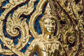 Thai Metal Low-relief Art — Stock Photo