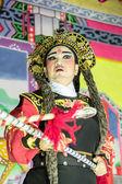 中国歌剧表演 — 图库照片