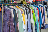 Second handed clothes shop — Stock Photo
