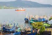 Gemiler, liman — Stok fotoğraf