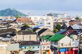 Harbour village — Stock Photo