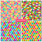 Сolorful seamless pattern — Stockvektor