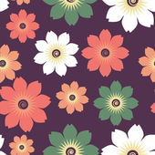Flowers pattern source — Stockvektor