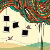 Abstract tree — Wektor stockowy
