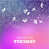 Tuesday — Stock Vector