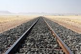Desert Railroad — Stock Photo
