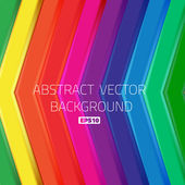 Abstract bright lines arrows background wallpaper — Stock Vector