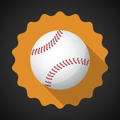 Sport Ball Baseball — Stock Vector