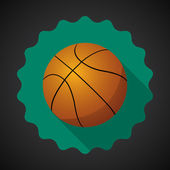 Sport Ball Basketball — Stock Vector